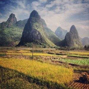 Guilin's landscape is like a painting